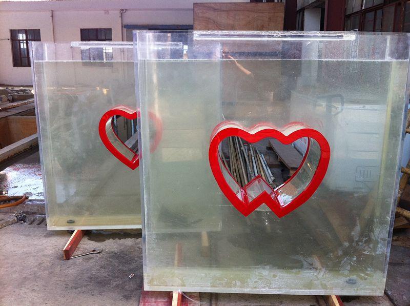 异形鱼缸  异形亚克力鱼缸 大型水族工程 可上门测量定做