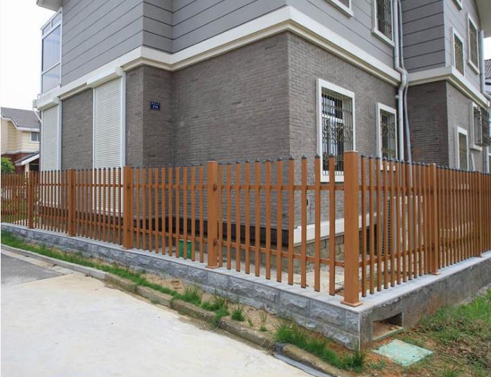 厂家直销 围墙栏杆 铝合金护栏 小区厂区外围防护栏 别墅围墙