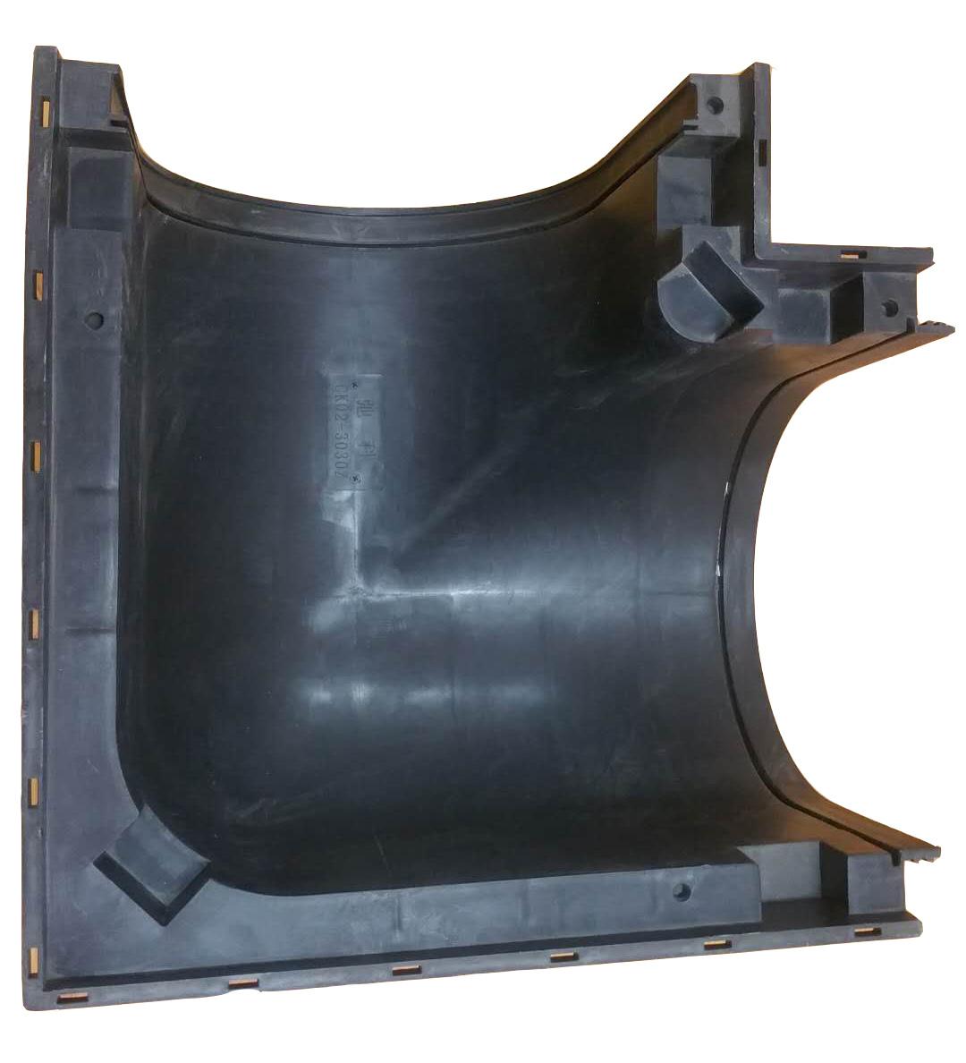【弛科】转角沟 线性成品排水沟 HDPE转角沟 塑料转角沟  生产厂家直销