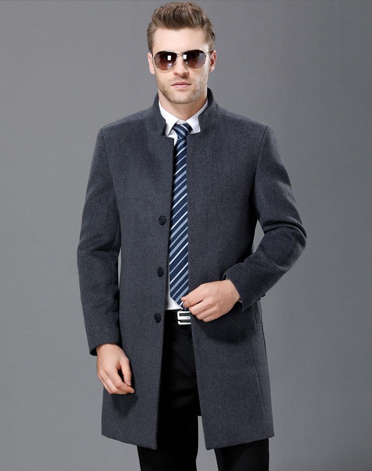 羊毛大衣定制 商务大衣定制 毛呢大衣定制