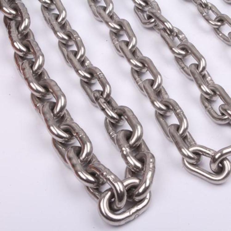 G50全自动焊接不锈钢链条 捆绑不锈钢焊接链条