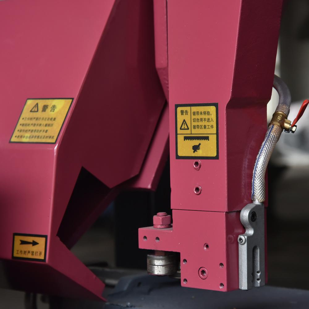 卧式龙门液压金属带锯床 数控金属带锯床厂家 工地用钢筋锯床 力驰带锯床LICHI