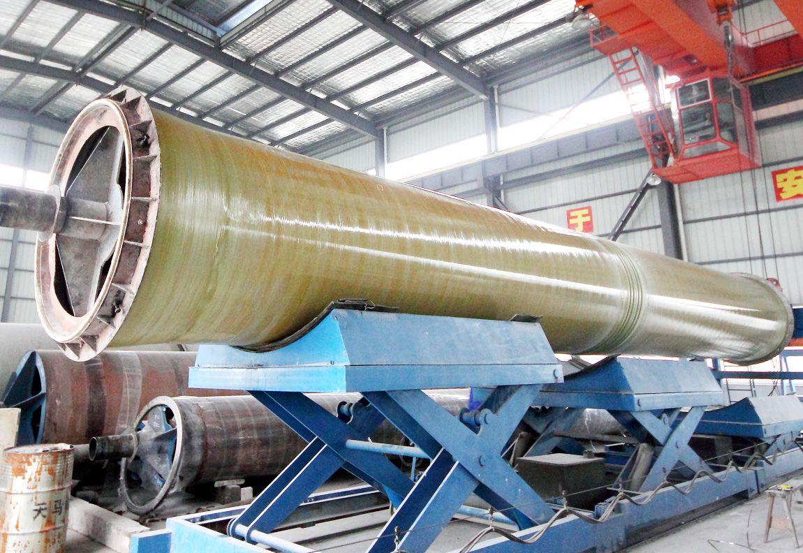 【云峰】玻璃钢夹砂管  玻璃钢缠绕风管夹砂管  玻璃钢管道生产厂家
