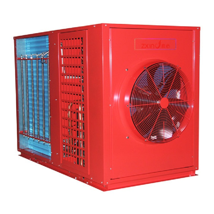 【真心】空气能热水器 超低温空气源热泵烘干机6p化工腊肠菊花烘干除湿工程厂家直销