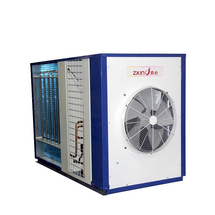 【真心】空气能热水器 空气源动态热泵烘干机5p 化工菊花药材商用烘干除湿机厂家直销