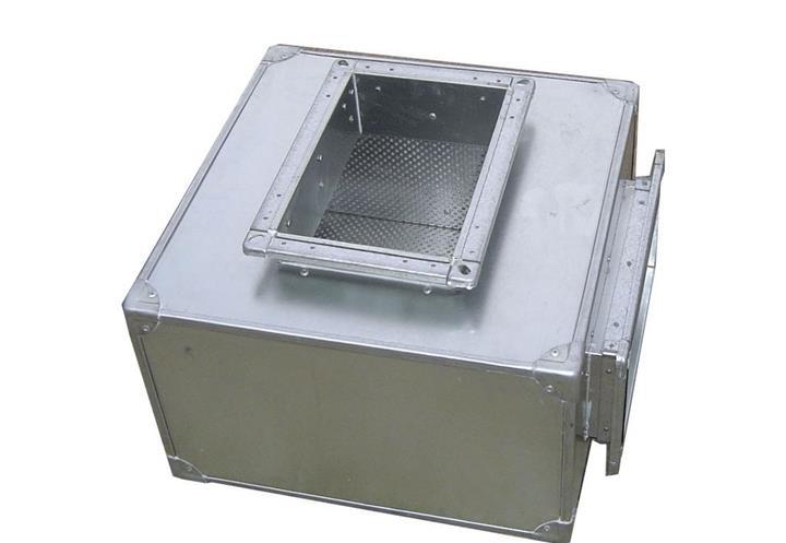 【世纪创远】静压箱 加工定制 空调通风系统加工定制 消声静压箱 消声器