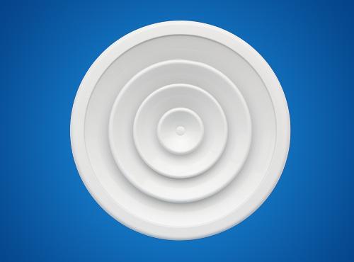 【世纪创远】厂家直销圆形散流器、圆盘形散流器、方形散流器