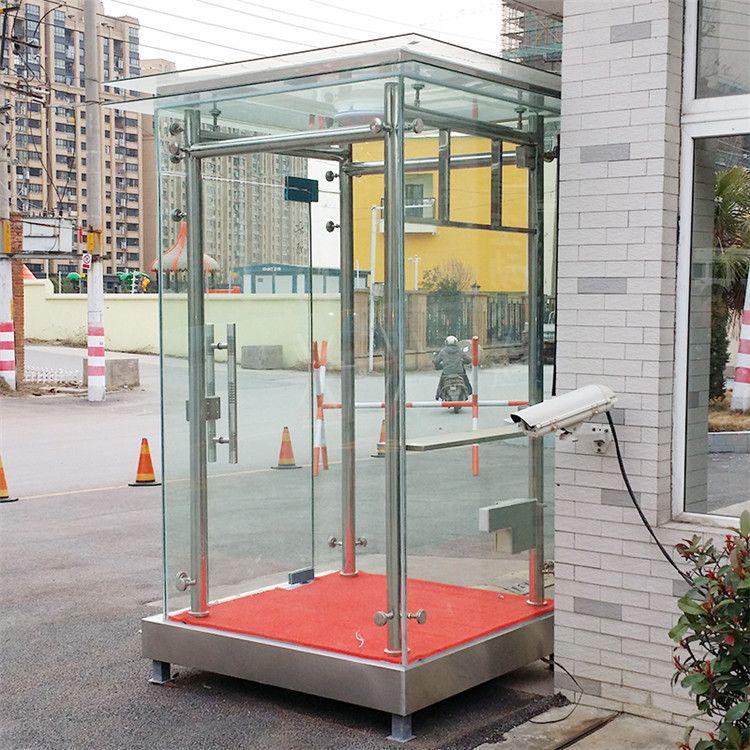 【典派】 钢化玻璃岗亭 钢化玻璃岗亭生产厂家定制