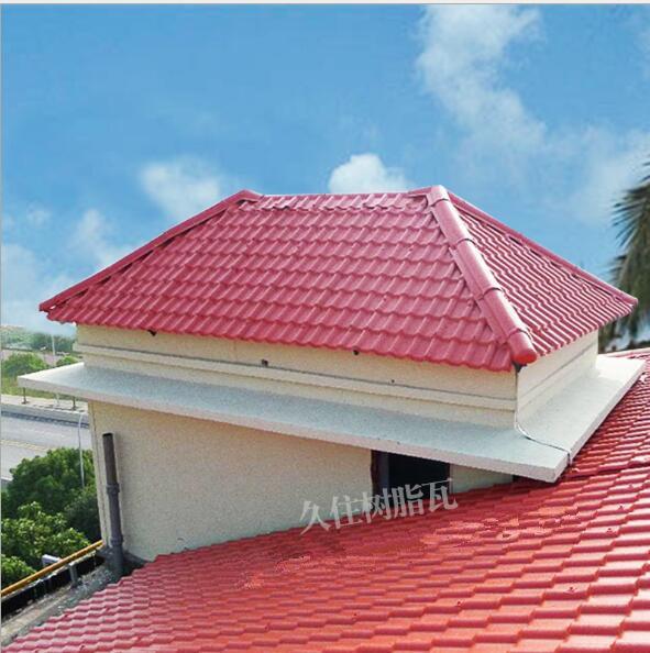 合成树脂瓦厂家直销耐高温耐腐蚀新型琉璃瓦环保厂房搭建屋顶瓦
