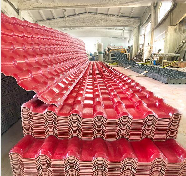 树脂瓦片屋面瓦3.0mm厂家直销屋顶建筑用ASA合成仿古仿琉璃塑料瓦