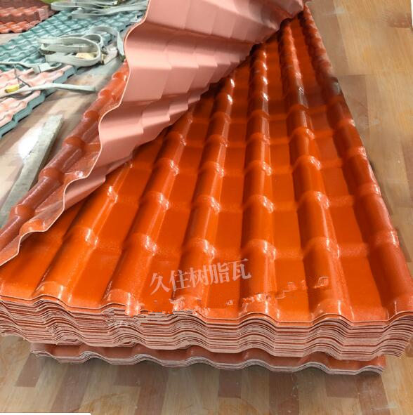 合成树脂瓦 厂家生产 防腐瓦 耐火性强 平改坡屋面瓦 塑料仿古瓦
