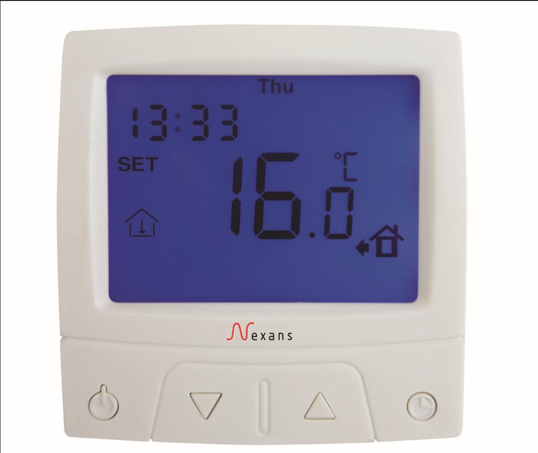 耐克森温控器型号:CDFR-003 耐克森地暖代理 耐克森电缆线