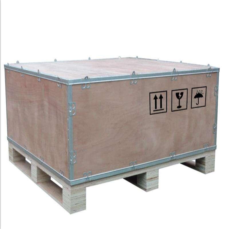 钢带箱  木钢带箱  钢边箱钢带箱  包装箱钢带箱