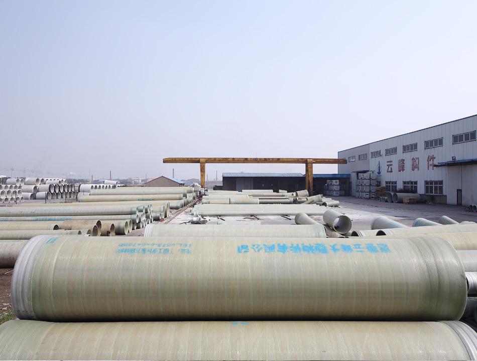 云峰管业  厂家直销夹砂管 玻璃钢顶管 玻璃钢保温管道