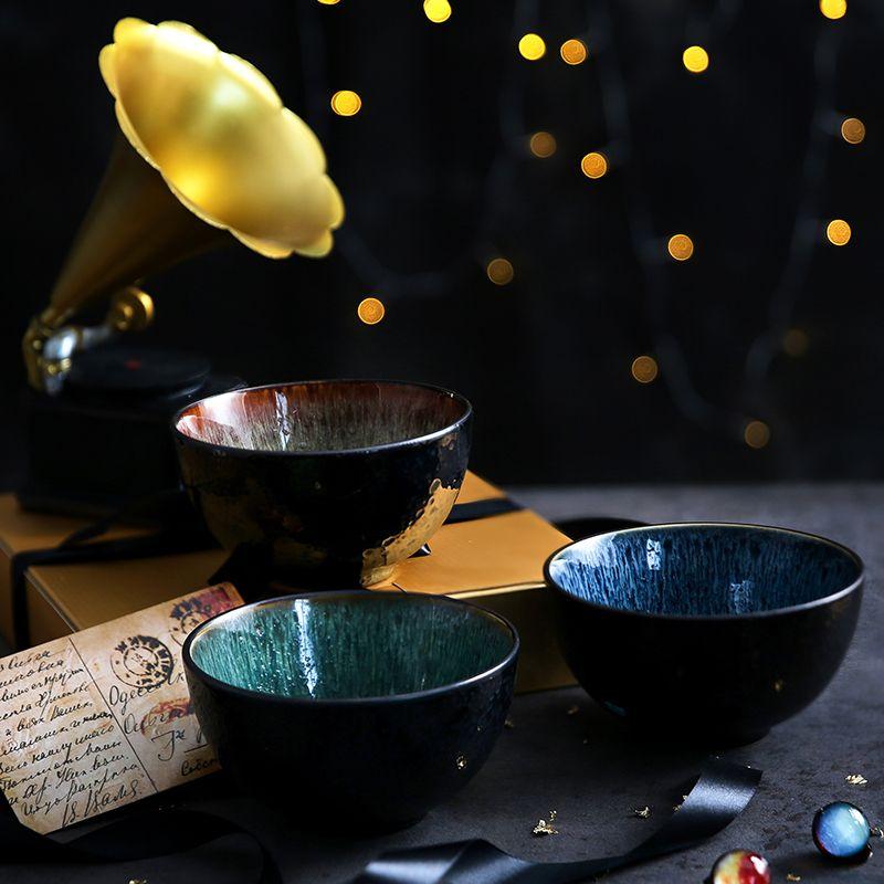 礼品餐具 玉泉 可微波 陶瓷餐具 面碗 釉下彩 高淳陶瓷 餐具礼品定制价格