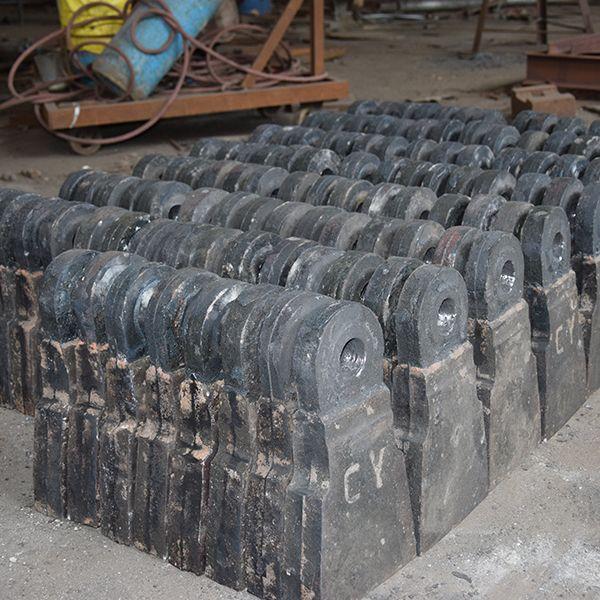 定制加工破碎机锤头  合金锤头  耐磨锤头 高锰钢锤头 锻打锤头 量大从优  如皋潮源铸造有限公司