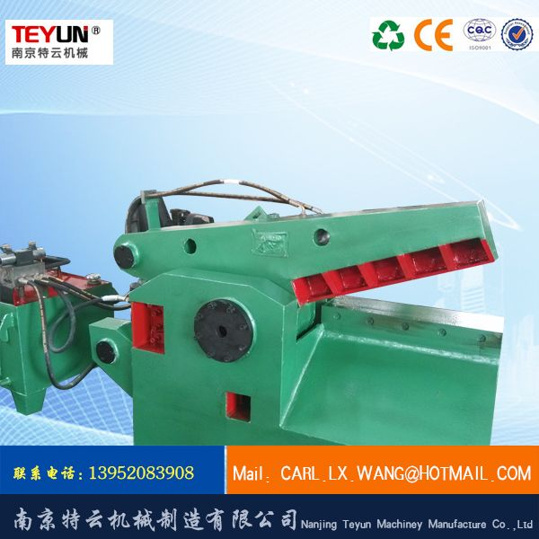 特云  Q43-63金属剪切机  废钢材料剪料机 废金属剪切机