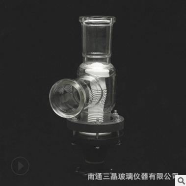 三晶玻璃厂家直销 玻璃阀门规格齐全