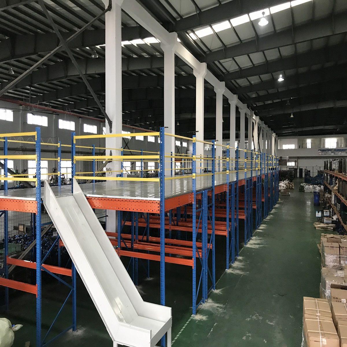 阁楼货架 货架生产商 各类货架供应 原装现货就来至腾仓储货架
