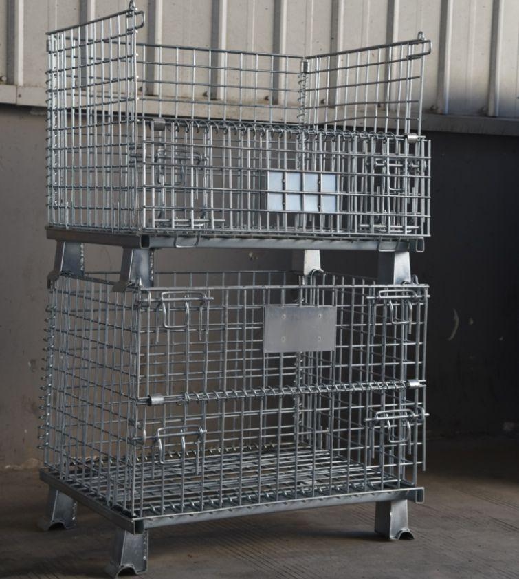 仓储笼 保质保量  厂家出售 标准仓储笼 加盖仓储笼  蝴蝶笼 支持定制