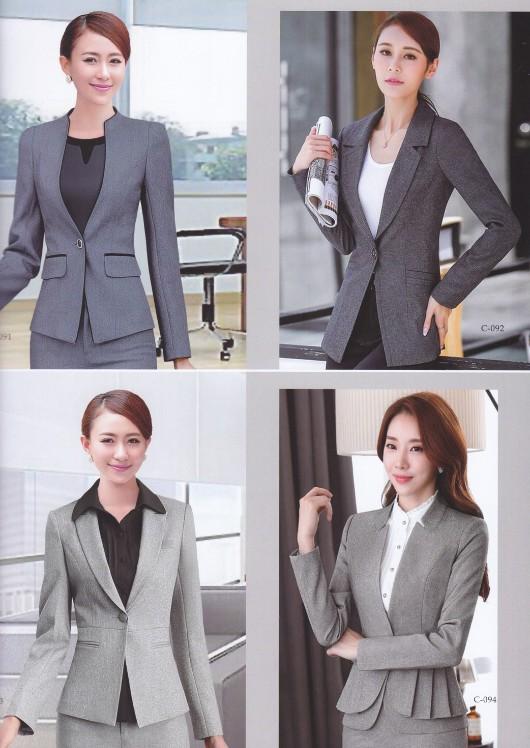 男女款西服 西装生产批发厂家 时尚气质职业套装 女士正装定做 品质保障