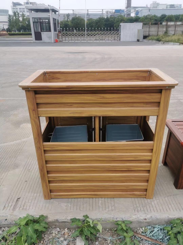 垃圾桶花箱组合 户外花箱 座椅花箱 户外花箱厂家 浙江花箱