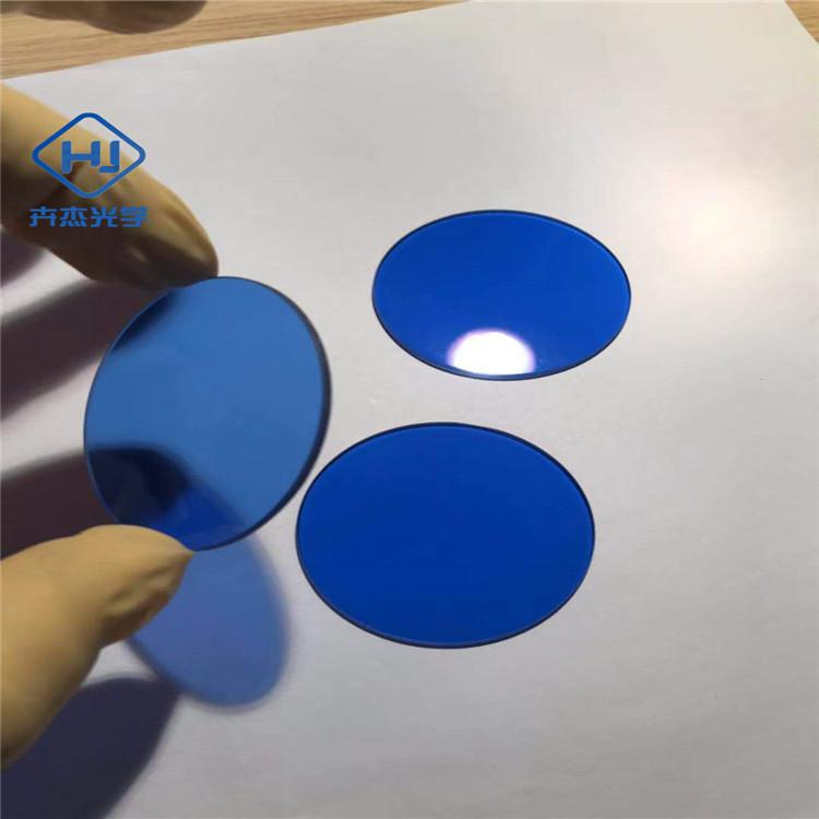选择吸收型光学玻璃  青蓝色光学玻璃   QB2