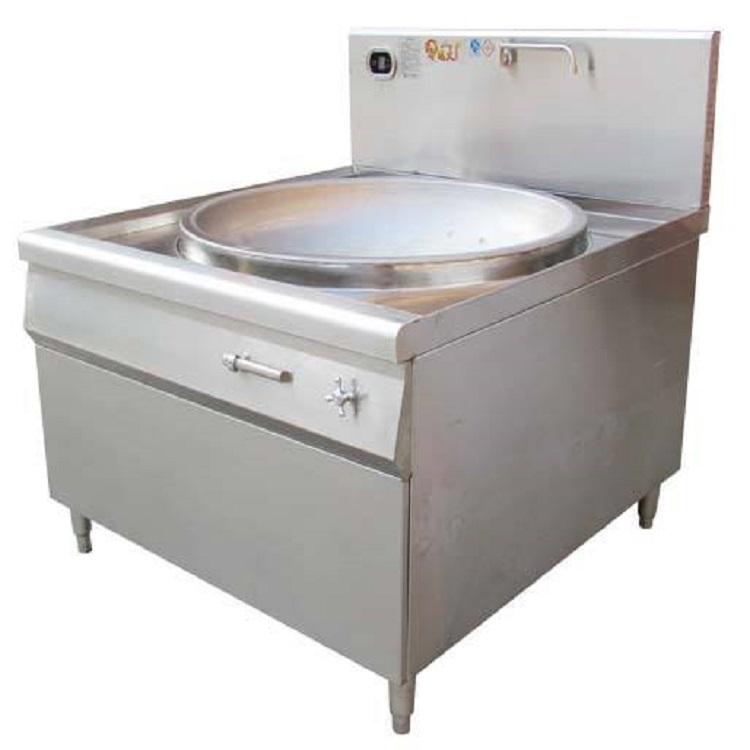 饭店商用大锅电炒炉   电磁灶双头炒锅  食堂大锅灶
