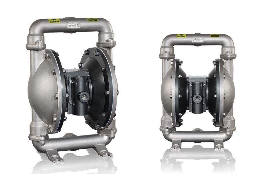BSK气动隔膜泵BA40SS-STT3-A  BSK1.5寸不锈钢泵 气动隔膜泵 电动隔膜泵