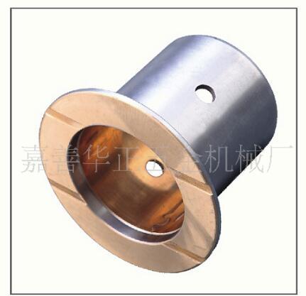 JF-800双金属摩擦焊接轴承,双金属法兰衬套轴承
