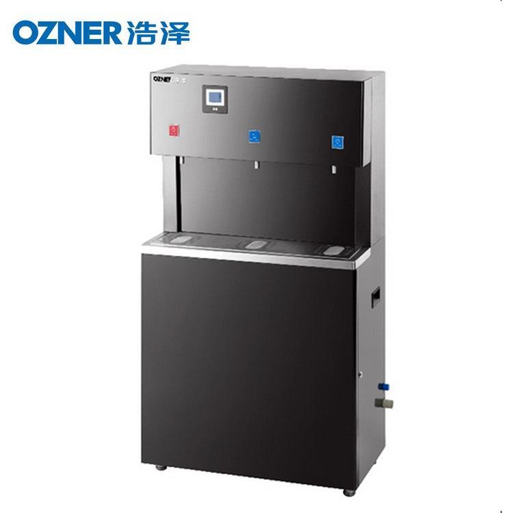 浩泽BL黑金刚四出水 立式不锈钢饮水机 商用饮水平台 柜式开水器