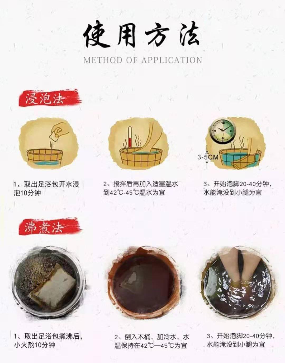 萌祖草本(养生)足浴包8味