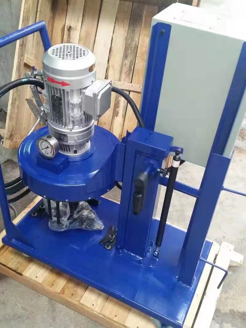 手摇升降架式电动润滑泵