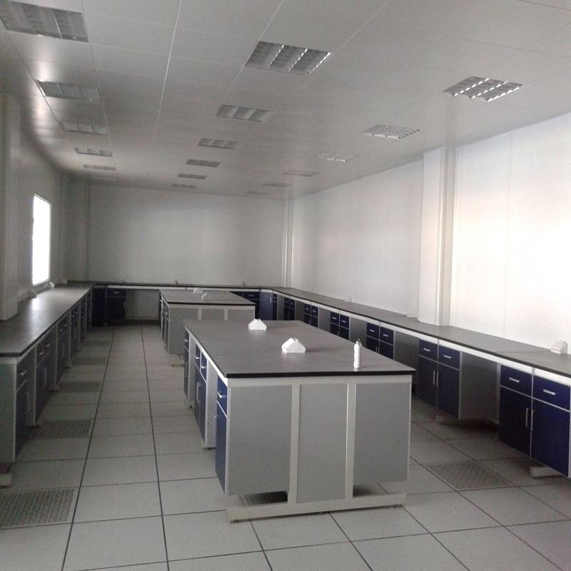 微生物实验室建设 检测实验室装修 大型实验室操作台定制