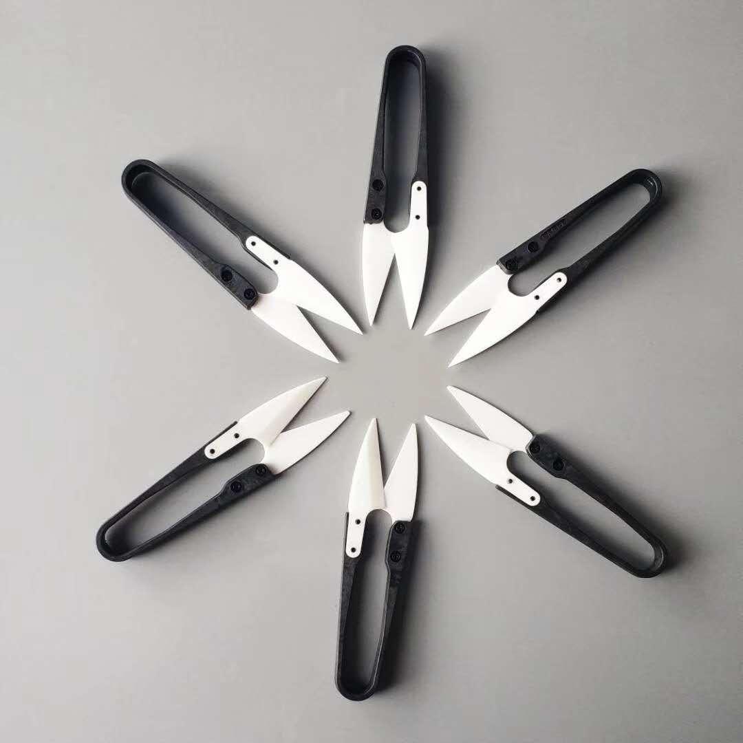 陶瓷纱线剪   陶瓷剪刀 机用刀片 撕碎机刀片