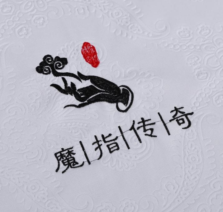厂家直销 美容院足疗会所复合加密沙发巾 可定制印花LOGO