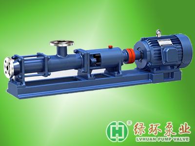 打泥泵 压滤机进料泵 螺杆泵G40-1