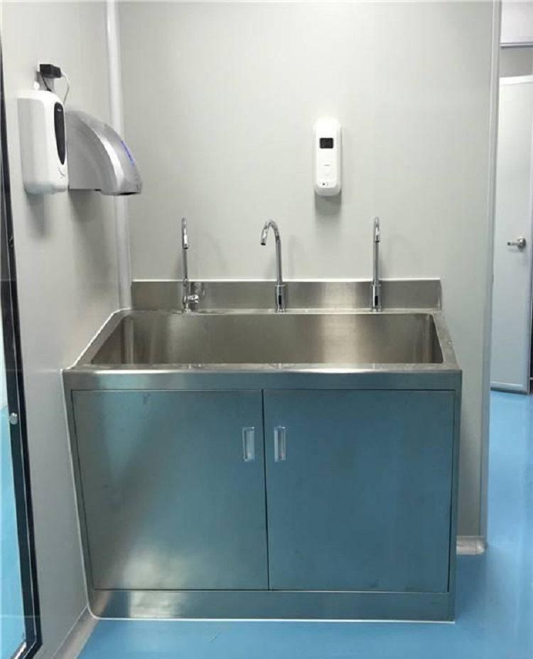 医用不锈钢洗手台   医用不锈钢洗手台定做  医院洗手台