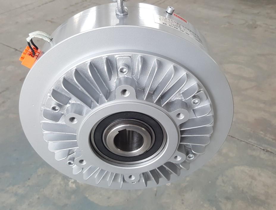 空心轴磁粉制动器海菱-磁粉制动器 空心轴法兰式磁粉制动器(CZK型)