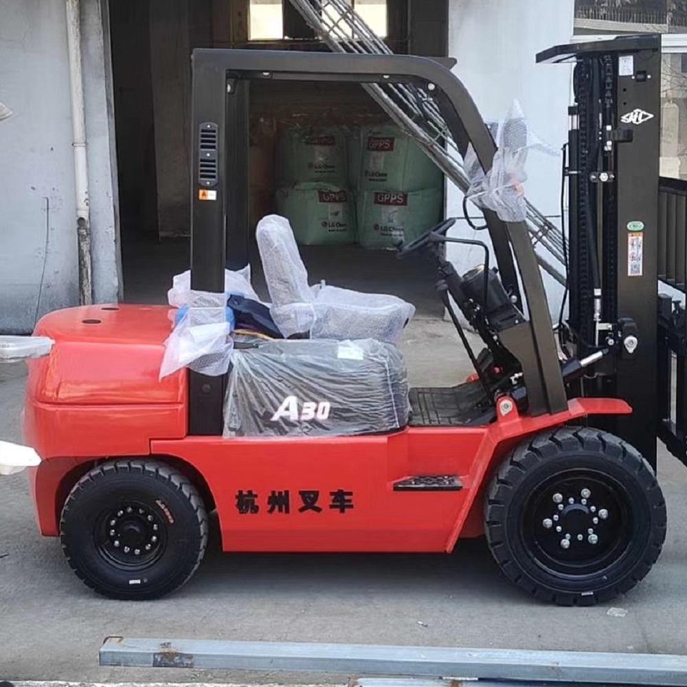 杭州叉车 柴油内燃叉车价格 厂家直销 叉车租赁 二手3吨柴油叉车价格