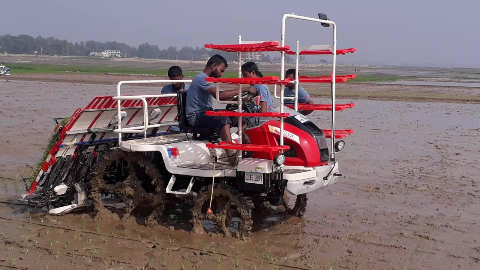 无人驾驶插秧机价格 厂家热销无人驾驶插秧机