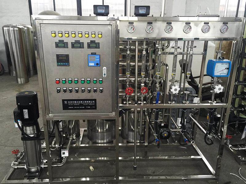 厂家定制纯化水设备 医药 工业 口罩  84消毒液纯化水设备 全不锈钢纯化水设备