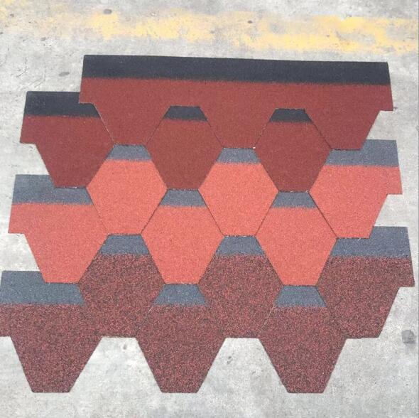 沥青瓦 马赛克玻纤瓦全国直销屋面系统建筑材料单层双层瓦片