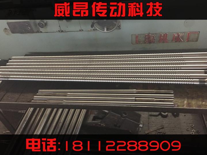 南通厂家直销  重载丝杠 注塑机滚珠丝杠 插管式滚珠丝杠 研磨丝杠
