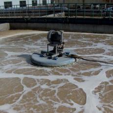 爱尔氧——立式环流曝气机复叶推流曝气搅拌机浮筒曝气机aier oxygen poseidon aerator mixer 格兰厂家直销