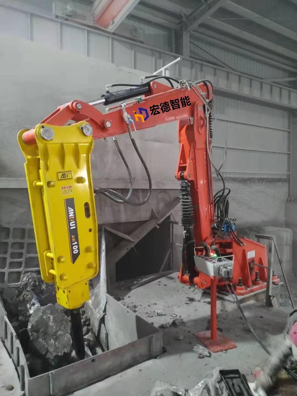 固定式液压破碎机 液压破碎站  液压破碎锤 多功能液压机械手