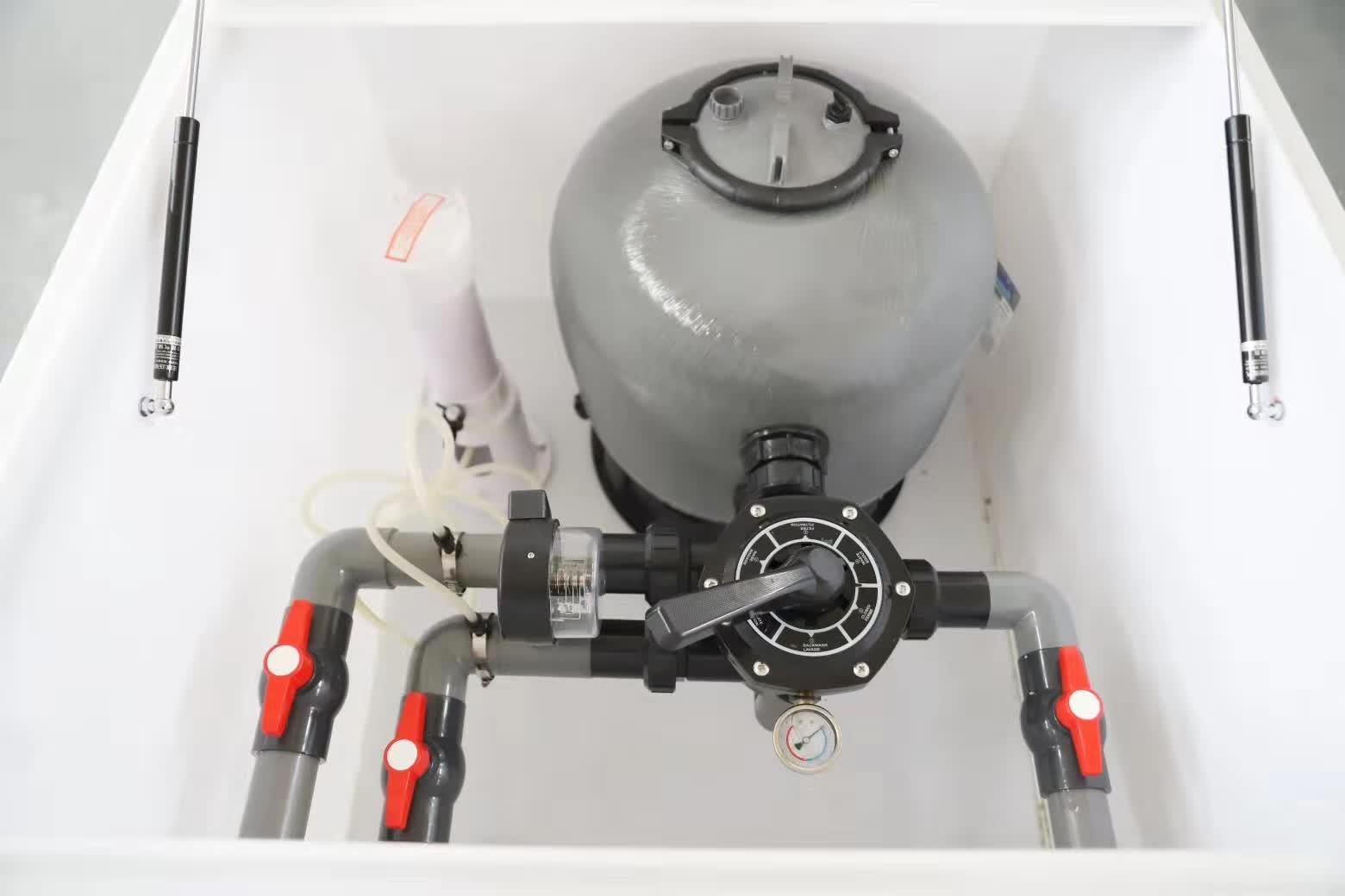 雨水收集过滤消毒一体机 设计精巧 智能化免维护 过滤器自动排污 具备消毒功能