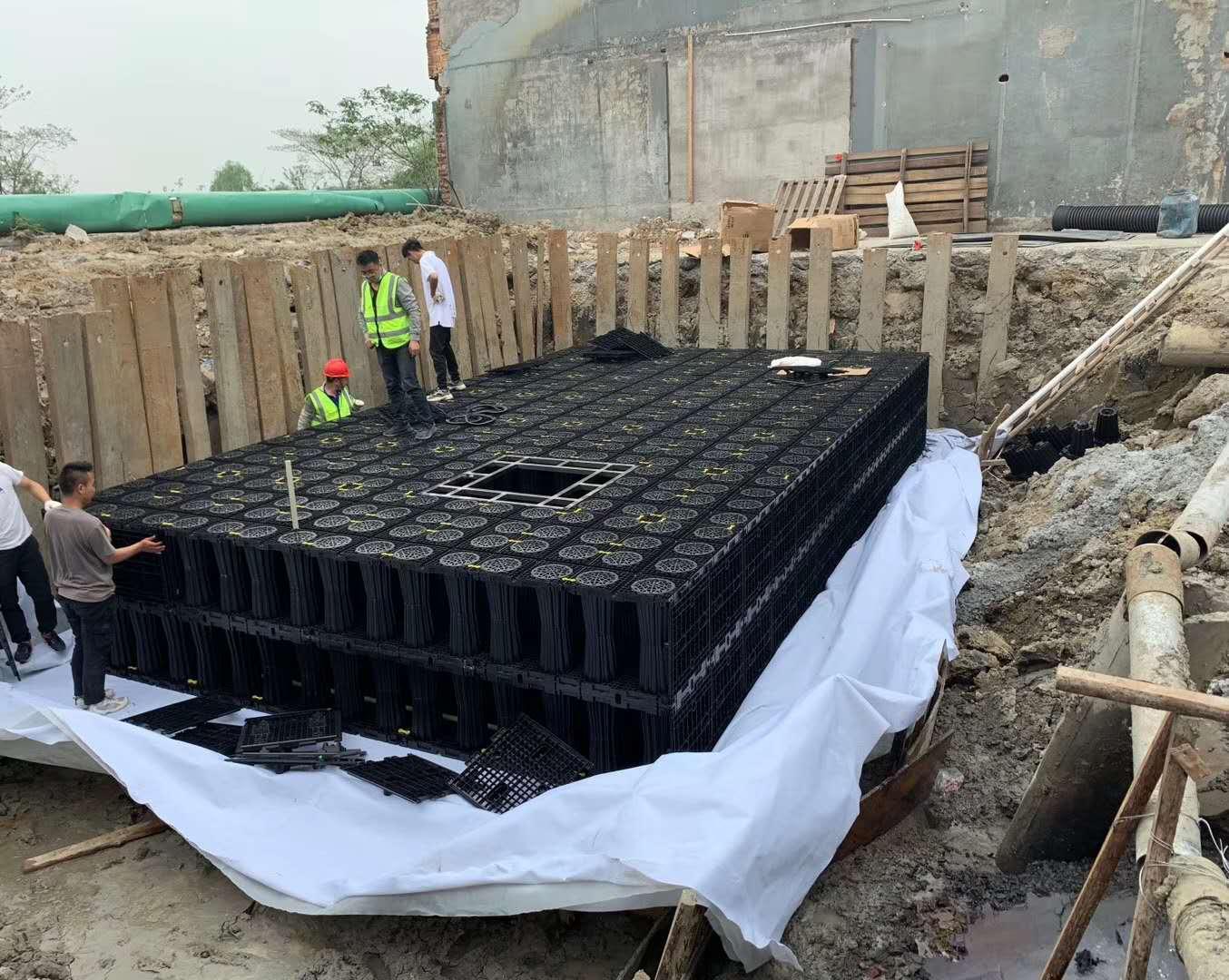 雨水蓄水收集系统 PP雨水收集系统 规格齐全可定制