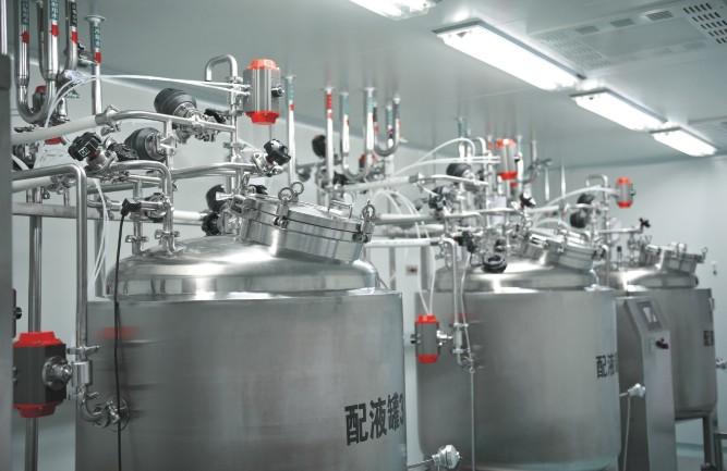 配液罐组  针剂配液系统