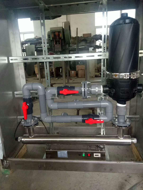 江苏雨水处理智能化一体机,全自动过滤消毒一体机价格,T形过滤消毒一体机 ,丰翌鑫自动化
